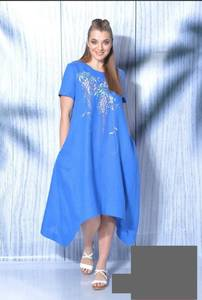 Платье короткое летнее А36759
