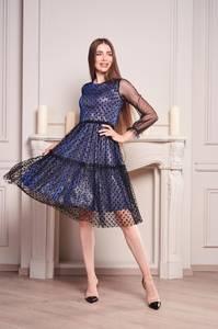 Платье короткое вечернее Ч5711