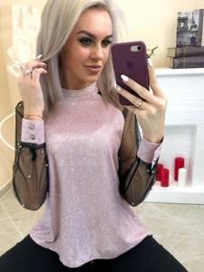 Блуза с длинным рукавом А09451