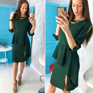 Платье короткое нарядное современное Х9755