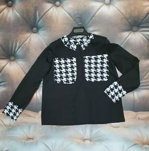 Блуза с длинным рукавом А25168