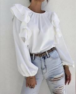 Блуза с длинным рукавом А25185