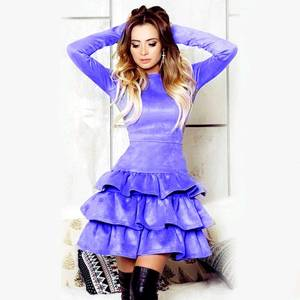 Платье короткое нарядное А20676