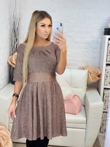 Платье короткое коктейльное современное Х1190