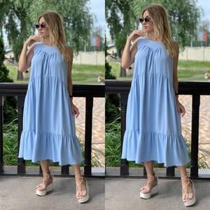 Платье длинное летнее Я7899