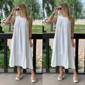 Платье длинное летнее Я7900
