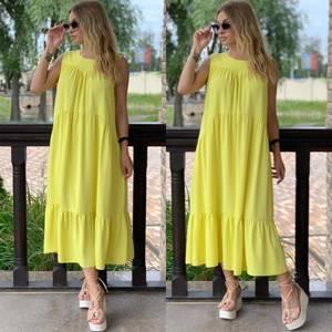 Платье длинное летнее Я7902