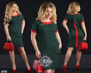 Платье короткое нарядное с принтом Ц0142