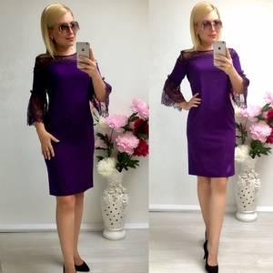 Платье короткое нарядное облегающее Т8038