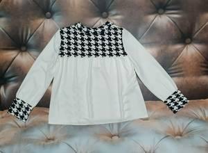 Блуза с длинным рукавом А25169