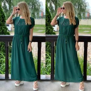 Платье длинное летнее Я7890