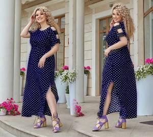 Платье длинное нарядное А43415