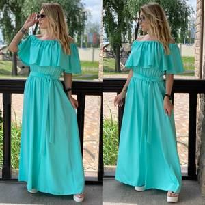 Платье длинное летнее Я7909