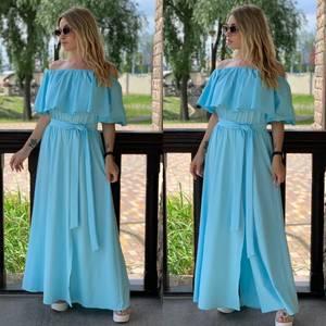 Платье длинное летнее Я7910