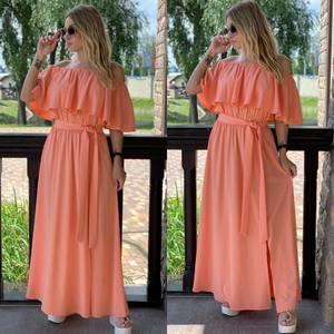 Платье длинное летнее Я7911