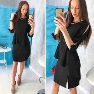 Платье короткое нарядное современное Х9757
