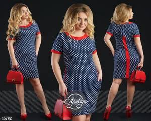 Платье короткое нарядное с принтом Ц0143