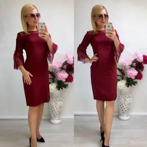 Платье короткое нарядное облегающее Т8039