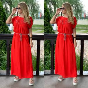 Платье длинное летнее Я7891