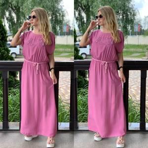 Платье длинное летнее Я7892