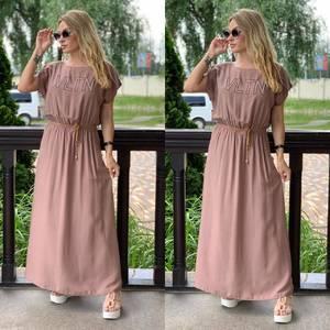 Платье длинное летнее Я7893