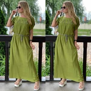 Платье длинное летнее Я7894