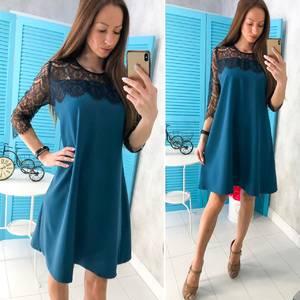 Платье короткое нарядное современное Х9760