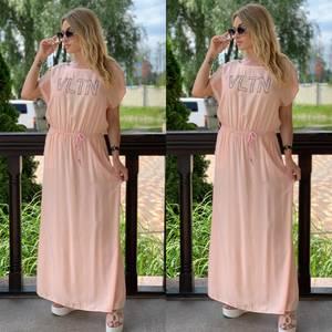 Платье длинное летнее Я7895