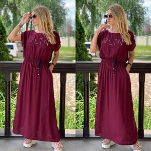 Платье длинное летнее Я7896