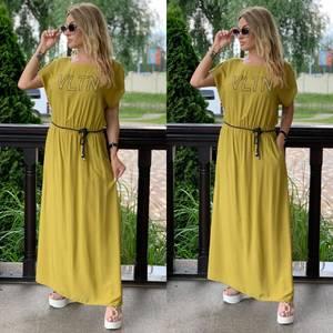 Платье длинное летнее Я7897