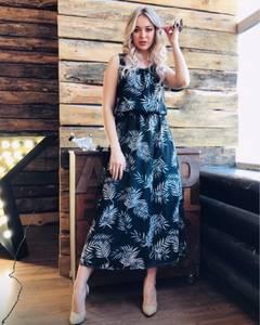 Платье длинное летнее Я7009