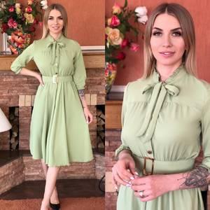 Платье короткое элегантное Я5498