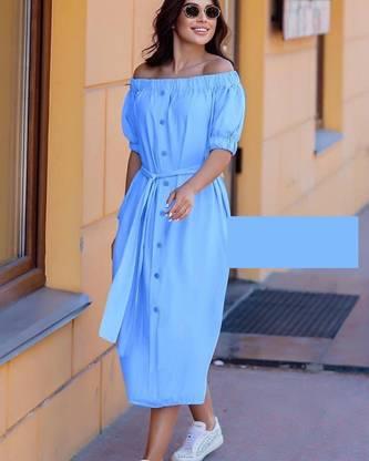 Платье длинное летнее А42907