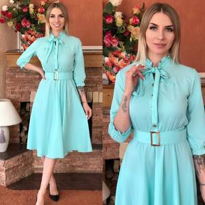 Платье короткое элегантное Я5500