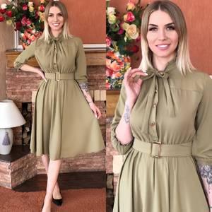 Платье короткое элегантное Я5501