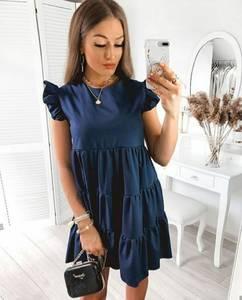 Платье короткое летнее А36773