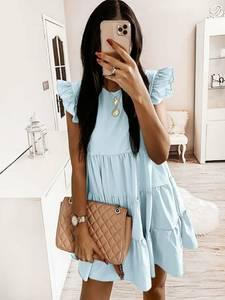 Платье короткое летнее А36774