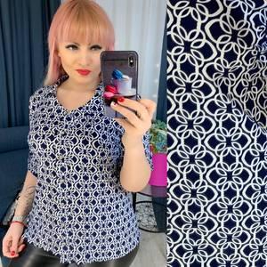 Рубашка с принтом Ю7899