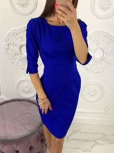 Платье короткое синее Ю8067