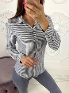 Рубашка в полоску Ю8073