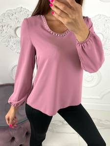 Блуза розовая Ю8077