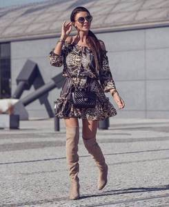 Платье короткое нарядное современное Х9795
