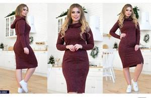 Платье короткое с длинным рукавом Ш1913