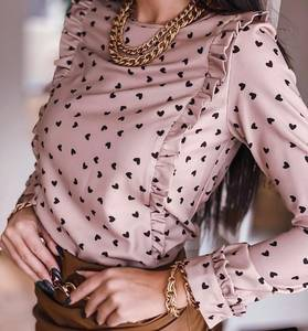 Блуза с длинным рукавом А27940