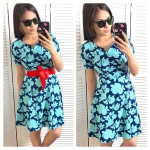 Платье короткое нарядное современное Х9727