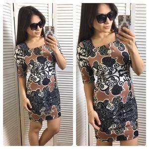 Платье короткое нарядное современное Х9737