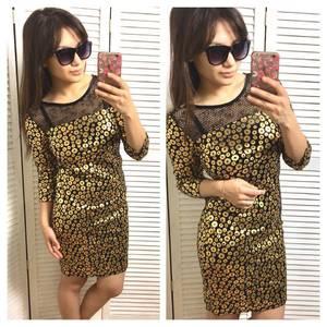 Платье короткое нарядное современное Х9738
