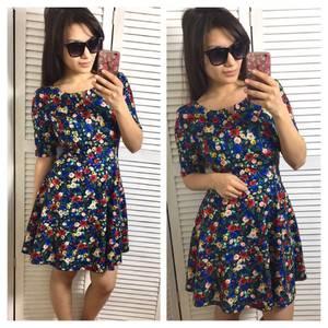 Платье короткое нарядное современное Х9739