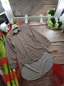 Рубашка в полоску А35186