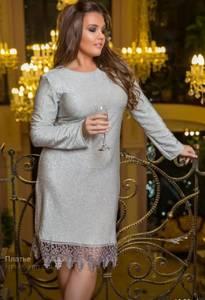 Платье короткое нарядное Ш1575